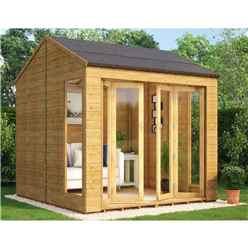8ft X 8ft Cannes Tongue And Groove Summerhouse
