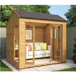 6ft x 8ft  Monte Carlo Tongue and Groove Summerhouse