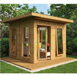 10 x 10 Lounge Contemporary Summerhouse