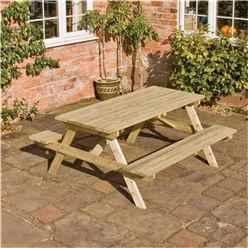 Deluxe 5ft Picnic Table
