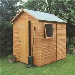 INSTALLED 7 x 5 Deluxe Tongue And Groove Shed (12mm Tongue And Groove Floor) INCLUDES INSTALLATION