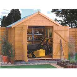 INSTALLED 10 x 8 Deluxe Tongue And Groove Shed (12mm Tongue And Groove Floor) INCLUDES INSTALLATION