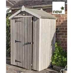 INSTALLED Deluxe 4 x 3 Heritage Shed INCLUDES INSTALLATION