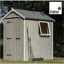 INSTALLED Deluxe 6 x 4 Heritage Shed INCLUDES INSTALLATION