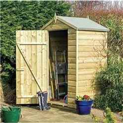 INSTALLED Deluxe 4 x 3 Oxford Shed INSTALLATION INCLUDED