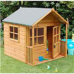 INSTALLED Deluxe Playaway Playhouse 5 x 5 (1.60m x 1.56m) INCLUDES INSTALLATION