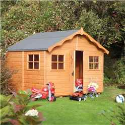 INSTALLED Deluxe Playaway Lodge Playhouse 8 x 7 (2.47m x 2.08m) INCLUDES INSTALLATION