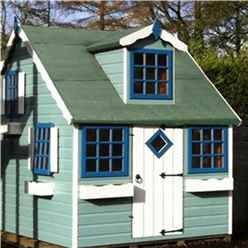 INSTALLED 6 x 8 Cottage Playhouse