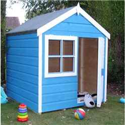 INSTALLED 4 x 4 (1.19m x 1.19m) - Wooden Playhut Playhouse INSTALLATION INCLUDED