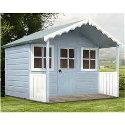 ** IN STOCK LIVE BOOKING ** 6 x 4 Wooden Stork Playhouse