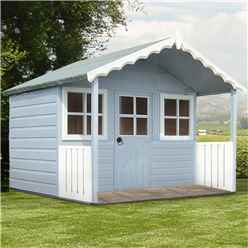 INSTALLED 6 x 4 (1.79m x 1.19m) - Wooden Stork Playhouse - INCLUDES INSTALLATION