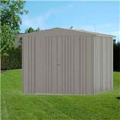 8 X 10 Premier Heavy Duty Metal Quartz Grey Shed (2.44m X 3.0m)