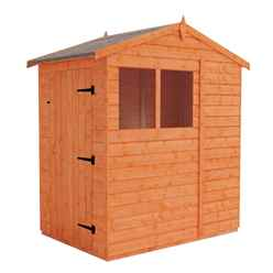 4 x 6 (1.23m x 1.75m) Horsforth Tongue and Groove Apex Shed with 2 Windows (12mm Tongue and Groove Floor and Roof)