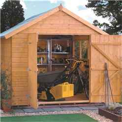 12 x 8 Deluxe Tongue and Groove Shed (12mm Tongue and Groove Floor)