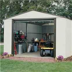 12 X 10 Deluxe Murryhill Metal Garage (3.71m X 2.97m)