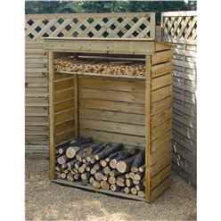 3ft 7 x 1ft 8 Deluxe Small Log Store