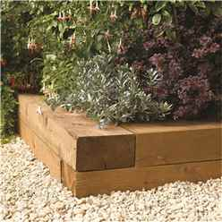 Deluxe Timber Blocks 2ft 11 (0.9m)