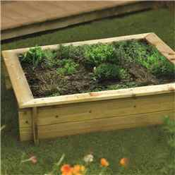 Deluxe Raised Bed/sandpit