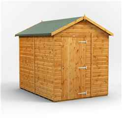 8 x 6 Premium Tongue and Groove Apex Shed - Single Door - Windowless - 12mm Tongue and Groove Floor and Roof