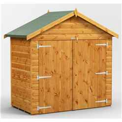 6 x 4  Premium Tongue and Groove Apex Bike Shed - 12mm Tongue and Groove Floor and Roof