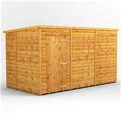 12 x 6 Premium Tongue and Groove Pent Shed - Single Door - Windowless - 12mm Tongue and Groove Floor and Roof