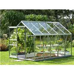 6ft x 10ft Value Anodised Aluminium Frame Greenhouse