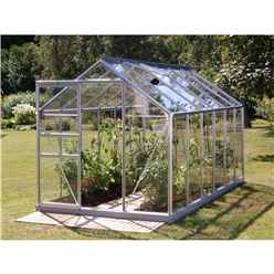 6ft x 12ft Value Anodised Aluminium Frame Greenhouse