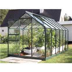 6ft x 12ft Value Green Metal Frame Greenhouse