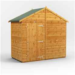6 x 8  Premium Tongue and Groove Apex Shed - Single Door - Windowless - 12mm Tongue and Groove Floor and Roof