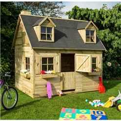 """8' 7"""" x 6 Cottage Playhouse (2.63m X 1.85m)"""
