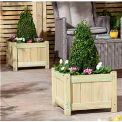 Pressure Treated Planters (2 pack)