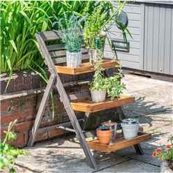Hardwood Large Plant Ladder