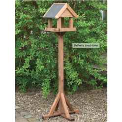 Two Sided Slate Premium Bird Table