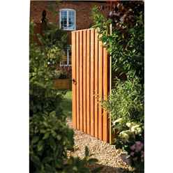 6 x 3 Vertical Board Fence Gate Dip Treated