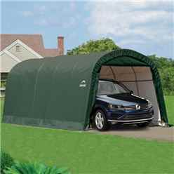 12 x 20 Round Top Auto Shelter
