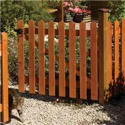 6 x 3 Picket Fence Panel Dip Treated - Minimum Order of 3 Panels