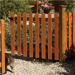 3 x 3 Picket Fence Gate Dip Treated
