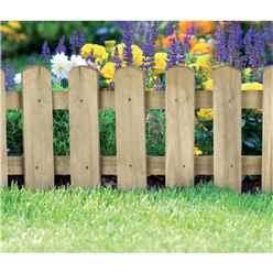 Picket Border Fence (2 pack)