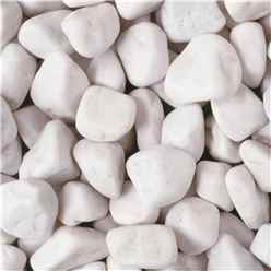Bulk Bag 850kg Spanish White Cobbles Gravel