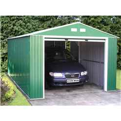 12 x 32 Budget Metal Garage (3.72m x 9.65m)