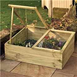 Deluxe Timber Coldframe 3ft 4 x 2ft 7