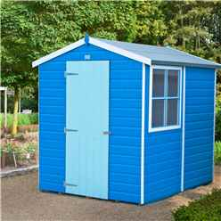 7 X 5 Tongue And Groove Apex Wooden Garden Shed / Workshop (12mm Tongue And Groove Floor)
