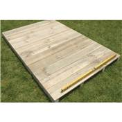 8 x 4 Easyfix Timber Floor Kit (Pent)
