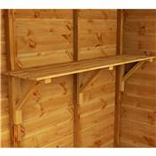 4ft Shelving (300mm Deep)