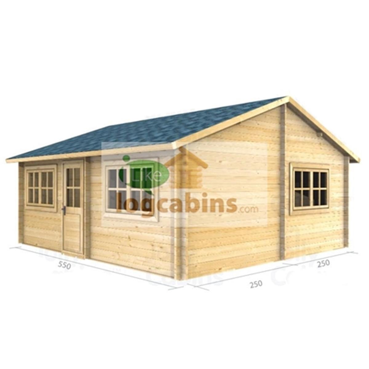 (18 X 16) Log Cabin