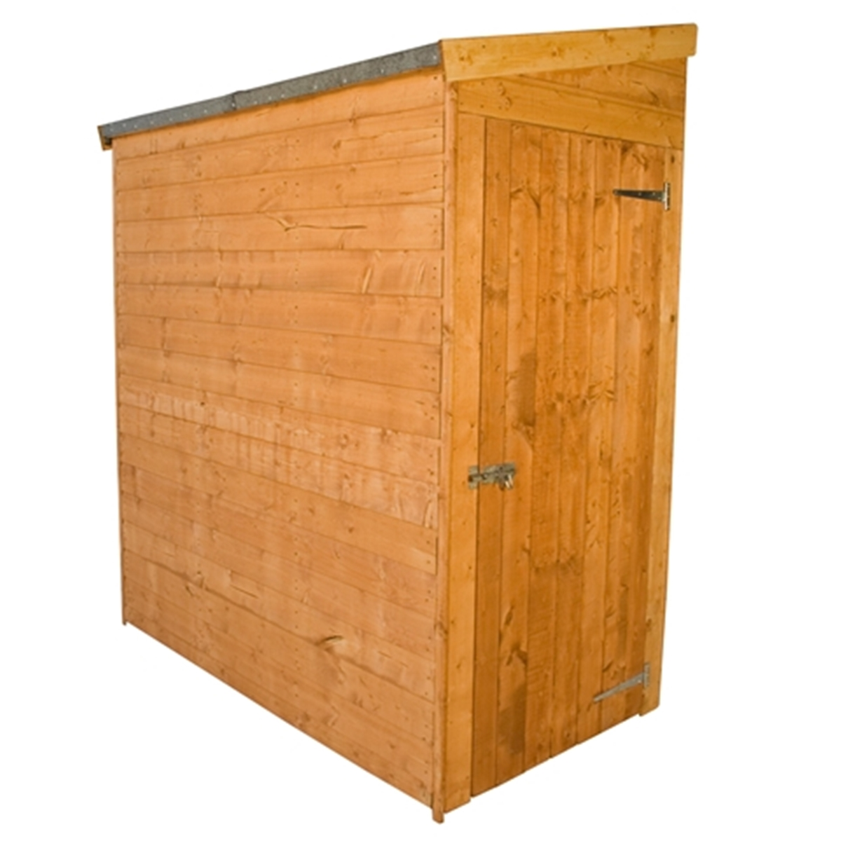 escape 6 x 3 tongue and groove wooden tall pent garden shed no front doors with universal side door 10mm solid osb floor 48hr sat delivery