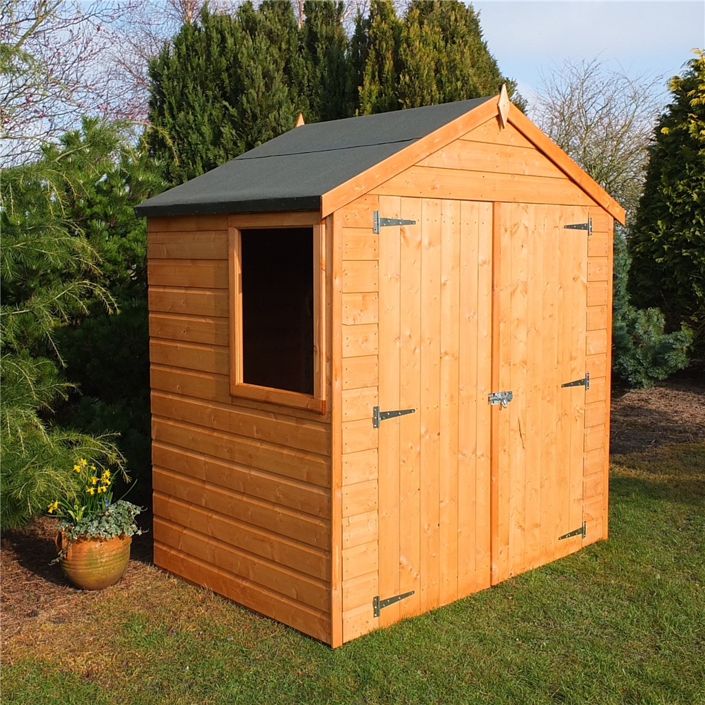 outdoor utility outsunny storage tool sheds garden cabinet wooden itm shed shelves