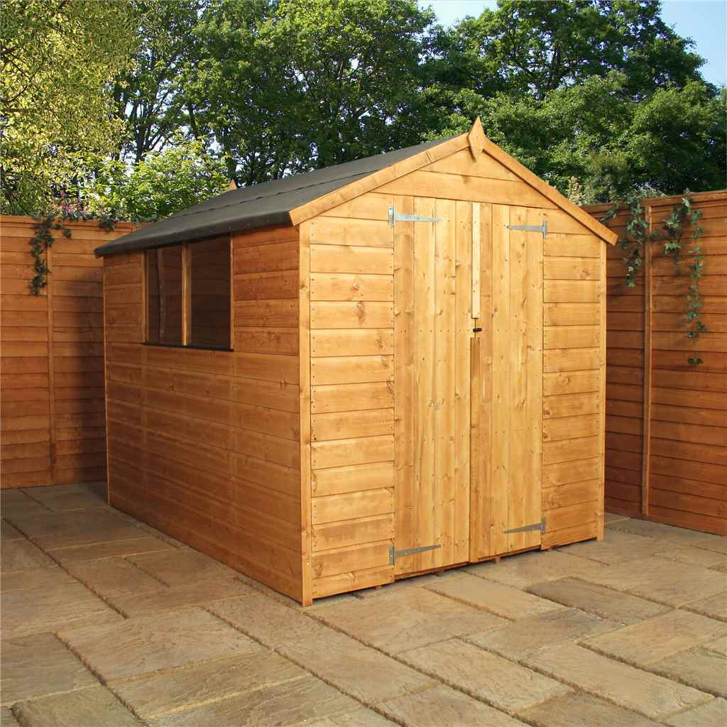Installed 8 X 8 Wooden Shiplap Tongue And Groove Shed Includes Installation